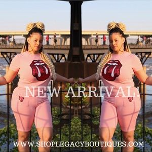 Other - Pink Two Piece Set